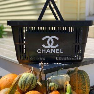 Chanel inspired shopping basket! Custom made!